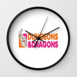 D_D All Nighter Wall Clock
