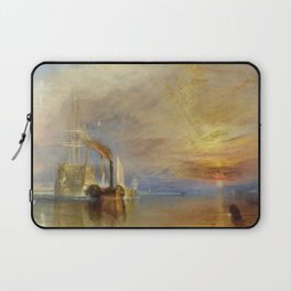 The Fighting Temeraire by J. M. W. Turner (1838) Laptop Sleeve