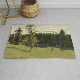 Train in the Countryside Rug