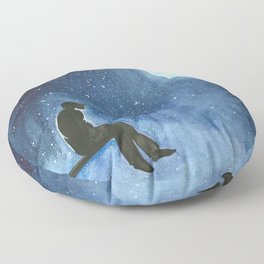 Serendipitous Skies Floor Pillow