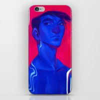 loish iPhone & iPod Skins featuring bold by loish