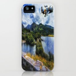 Lake Flight 1940's iPhone Case