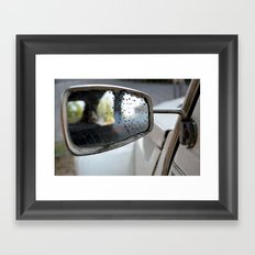Backseat Framed Art Print