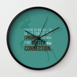 Better Connection Wall Clock