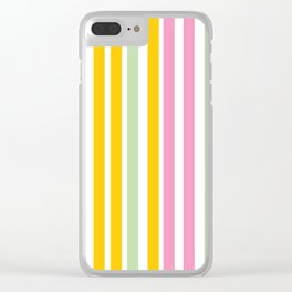 Lucky Stripes 03 Clear iPhone Case