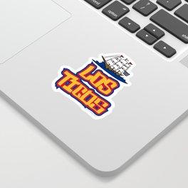 Costa Rica Los Ticos ~Group E~ Sticker