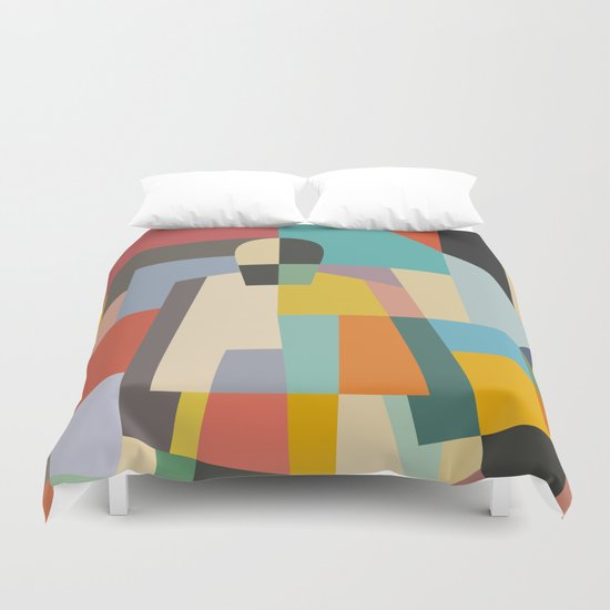 MISTERY WOMAN Duvet Cover