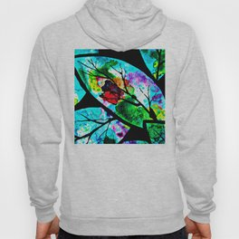 The connection between multicolored atoms Hoody
