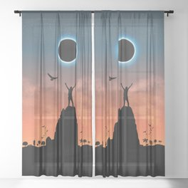 Total Eclipse Sheer Curtain
