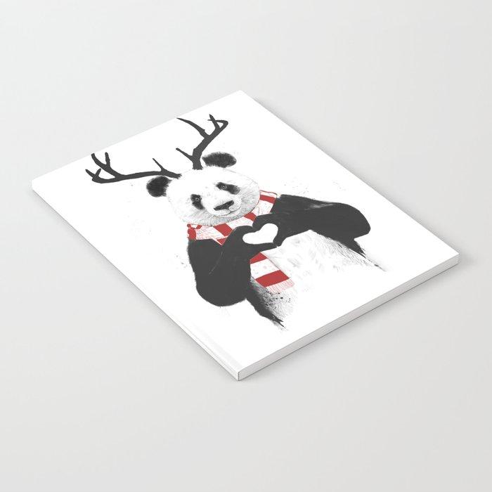 Xmas panda Notebook