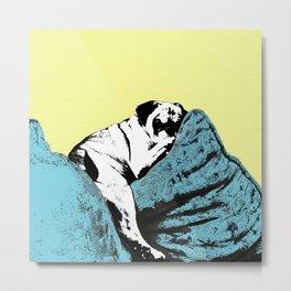 Sexy Pug Metal Print