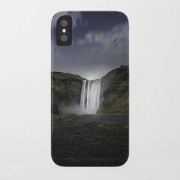 Skógafoss Waterfall Iceland iPhone Case