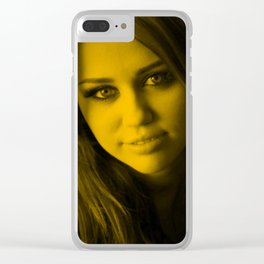 Miles Cyrus Clear iPhone Case
