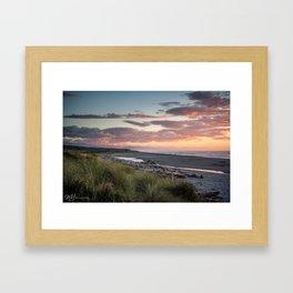 Hokitika Sunset Framed Art Print