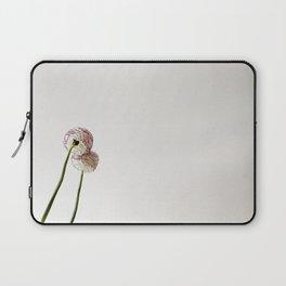 Flor reflejada Laptop Sleeve