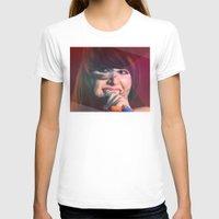 karen hallion T-shirts featuring Karen O by Camila Fernandez