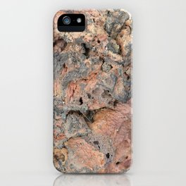 Iceland Rocks: Red Rhyolite Edition iPhone Case