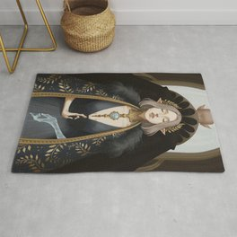 The lovers at the crossroads Rug