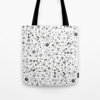planets Tote Bags featuring Planets by Smith and Ford