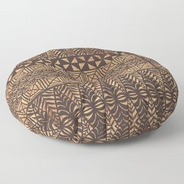 UrbanNesian Tongan Ngatu Floor Pillow