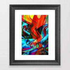 Love Tornado Framed Art Print