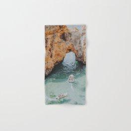 boat life iii / lagos, portugal Hand & Bath Towel