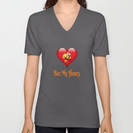Bee My Honey Save The Bees Gift Unisex V-Neck
