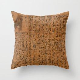 Papyrus of Amenhotep Throw Pillow