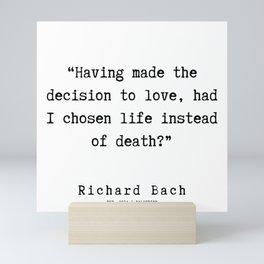 92   | Richard Bach Quotes | 190916 Mini Art Print