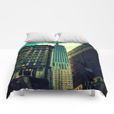 empire state building New York Comforters