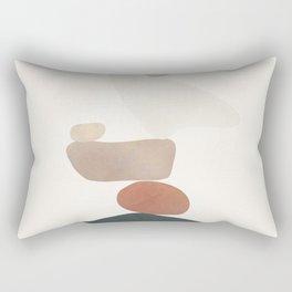 Balancing Stones 26 Rectangular Pillow