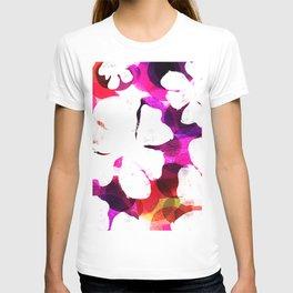 Large Hawaiian Tropical Blooms T-shirt
