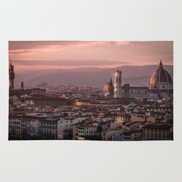 Florence, Italy Cityscape Rug