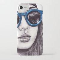 coachella iPhone & iPod Cases featuring Coachella  by Bella Harris