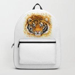 Artistic Tiger Face Backpack