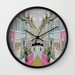 English Cottage Wall Clock