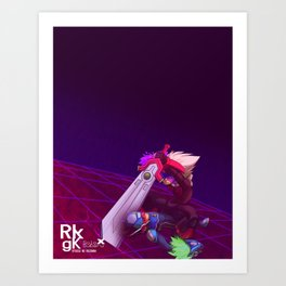 RnR Art Print