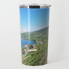 Vineyards of Epesses, Switzerland Travel Mug