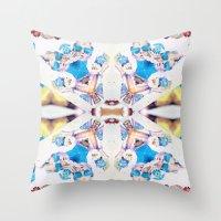 bitch Throw Pillows featuring Bitch. by DanielleYagodich