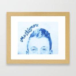 Macklemore II Framed Art Print