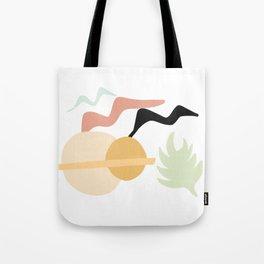 Birds, Sun, Plants Tote Bag