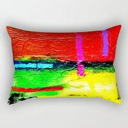 Zips & Fields Rectangular Pillow