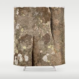 Megalith Stone Texture Shower Curtain
