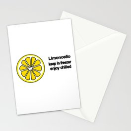 Limoncello Stationery Cards