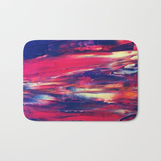 Abstract Painting 24 Bath Mat