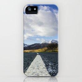 Road To Snowdon iPhone Case