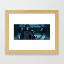 Erik Lensherr: Magneto II Framed Art Print