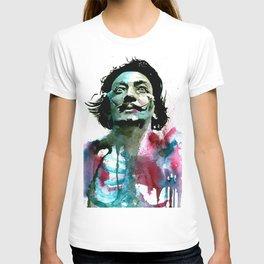 Watercolor Dali T-shirt