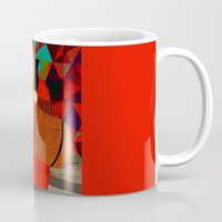 mercedes Mugs featuring Folklore by Design4u Studio