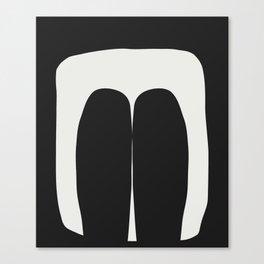 Holding On Black White Canvas Print